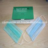 Máscara facial no tejida desechable del oído-Loop quirúrgico