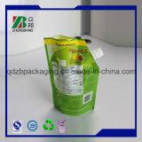 Custome Printed Aluminuim Foil Stand up Bolsas com canto Potenciômetro