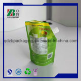 Custome imprimé Aluminium Foil Stand up Pouches avec bec Corner