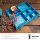 Hongdaoのカスタム木の縫う糸のディスプレイ・ケースWholesale_D