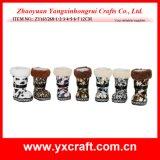 Fabbrica del regalo del pattino della caramella della Santa della decorazione di natale (ZY11S256-1-2)