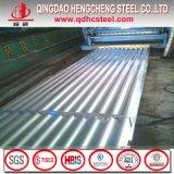 Feuille ondulée galvanisée de toiture pour l'industrie du bâtiment