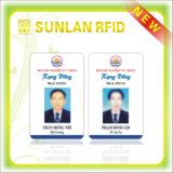 スタッフのための高品質125kHz 13.56MHz RFID IDのカード