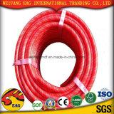 Manguito de aire superficial liso flexible amarillo de la succión Hose/PVC del PVC