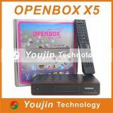 Ресивер Openbox X5, бесплатные поставки оригинальных ресивер Openbox X5 Поддержка Интернет-Ethernet, Youtube, Youporn, прогноз погоды