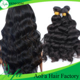 Unprocessed 7A de alta qualidade Natural Wave 100% Virgin Human Hair