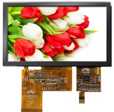 Индикация LCD 5.6 дюймов с поверхностью стыка RGB Spi