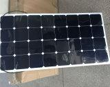 Elaborare la pila solare semi flessibile personalizzata di Sunpower del comitato solare 100W