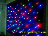 RGB Mix Cores completas LED Star Curtain 3 em 1 LED Star Curtain para pano de fundo