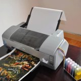 Kingtop Blank Hydrographic Film Inkjet PVA Aqua Print em branco Hidrografia Transmissão de água Filme de impressão com tamanho A4