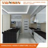 2018の白のラッカーMDF及び削片板の高い光沢のある食器棚