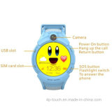 Hot Selling Kids Tracker Watch com lanterna (D14)