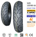 El sur de la motocicleta del neumático del deporte de América parte el neumático 120/80-16 de la motocicleta del neumático de la motocicleta de la moto