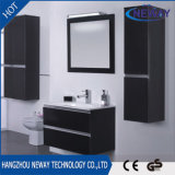 Cabinet de lavabo de lavabo neuf en bois avec armoire latérale