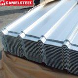 Aluzinc chapas de acero galvanizado de hoja corrugado