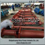 Pompa di pozzetto Anti-Abrasiva verticale per estrazione mineraria & la centrifuga di trattamento di acque di rifiuto