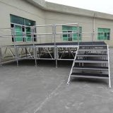 Heiße Verkaufs-im Freienleistungs-bauen zusammengebautes Ereignis-Aluminiumlicht Stadium ab