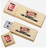 USB 3.0 드라이브를 가진 나무로 되는 쉘 USB 플래시 디스크