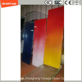 4.38mm-52mm Gradient Color PVB, Sgp Safety Laminated Glass com Certificado SGCC / Ce & CCC & ISO para Partição de Hotel & Home, Step, Fence, Shower