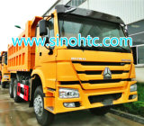 Carro de vaciado de Sinotruk HOWO, conducción a la derecha para Uganda/Kenia/Fiji, Malasia/Mozambique/Tanzania