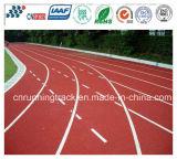 Trilha de corrida de borracha sintética de 13mm para superfície esportiva