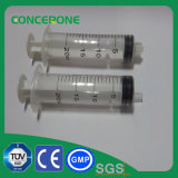 3 Teile PlastikMedical Syringe für Sale
