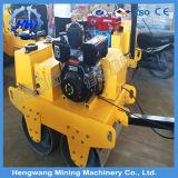 Mini singolo costipatore diesel del rullo compressore del vibratore del timpano
