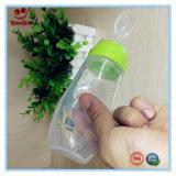 Bottiglia di bambino compressa del silicone del cucchiaio 4 oncia 0% BPA