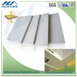 Color gris Precio de Junta de fibra de cemento para decorativo