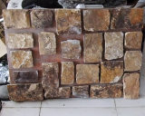 Placage en pierre desserré noir normal de nouveau produit (SMC-FS025)