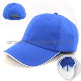 Haut de la qualité polyester Tissu en microfibre Sport Golf Cap (TMR4481)