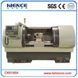 Torno de máquina CNC horizontal automático de baixo custo Ck6150A