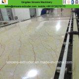 Linha de produção de pedra de mármore da extrusora de folha do PVC Iaminated