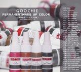 Goochie Derma Prüfung Aapproval reine Pflanzenaugenbraue Lipst Maekup Pigment-Tätowierung-Tinte