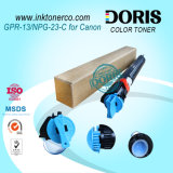 M/c di colore della polvere di toner Gpr13 C-Exv9 Npg23 ciano per i Adv C2570 C2800 C3100 C3170 C3180 di Canon IR