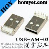 Conector USB para dispositivos eléctricos (USB-AM-03)