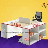 4개의 사단 사무용 가구 현대 사무실 책상 서랍 실무자 책상
