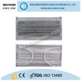 Mascherina attivata a gettare del filtro dal carbonio di uso della prova industriale della polvere