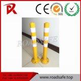 Poste flexible de ressort de sûreté en plastique orange d'unité centrale