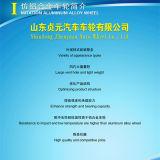 تقليد [ألومينوم لّوي] [كر وهيل], منافس من الوزن الخفيف فولاذ عجلة ([6ج15])
