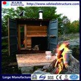Conteneur de cargaison de structure métallique de qualité de coût bas