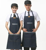 Saia stampata promozionale del cotone/cucina poliestere/non tessuta che cucina grembiule