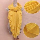 Женщины способа упрощают шарф пляжа солнцезащитный крем шарфа хлопка Multi-Color в штоке