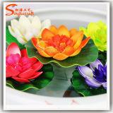 28 cm Diámetro de la simulación artificial flor de loto