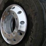 Con el neumático 12r22.5 forjado polaco Camión Llantas de aleación de aluminio de 22,5X9.00