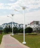 Constructeur solaire de lumières, 5m, 6m, 7m, hauteur de 8m Pôle