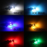 T10 5730 6SMD LED Lampe mit Selbst-LED Lampe der Objektiv Gleichstrom-12V Canbus Pority RGB Farben-