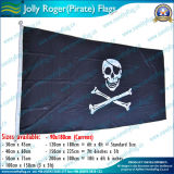 90X180cm 160GSM Spun Polyester Jolly Roger Pirate Flag (NF05F09006)