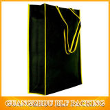 Черный дешевые нетканого материала магазинов пользовательских печатных бумажные мешки Нет минимального размера