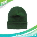 Серый Acrylic цвета Cuffed выдвиженческие связанные Beanies шлема зимы (039)